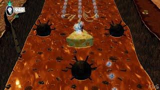 The Addams Family: Mansion Mayhem - Revolting Raft Ride (Mini Games) - Gameplay (PC UHD) [4K60FPS]