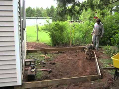 How to Lay a Patio in Sand