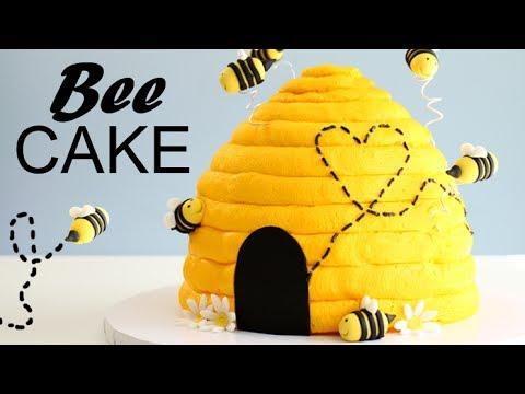 AMAZING Bee Hive CAKE!! ☀