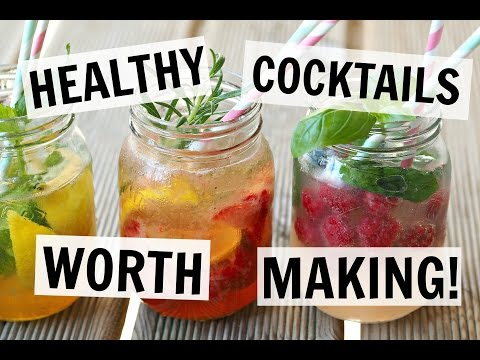 HEALTHY COCKTAILS | AD 4 EASY RECIPES!