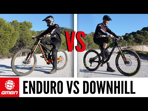 Enduro Vs Downhill Mountain Bike Race | Which Is Faster?