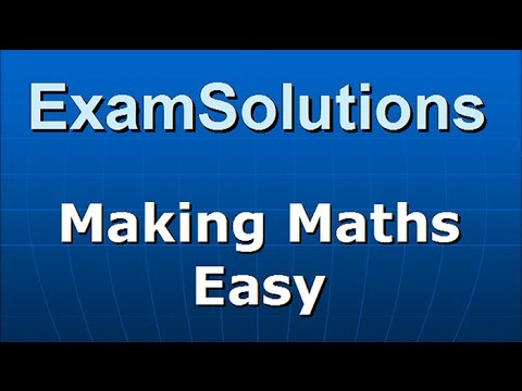 Quartiles - Stem leaf diagram  : S1 Edexcel January 2010 Q2(a)(b) : ExamSolutions Maths Revision