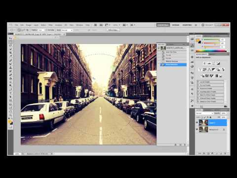 Tut: How To Create Fisheye Lomography In Photoshop CS5