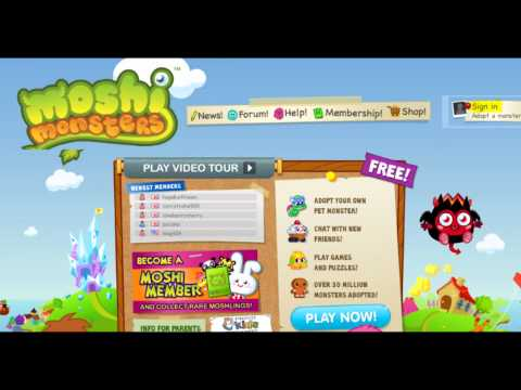 how to get a roxy on moshi monsters