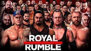 WWE 2K18 Royal Rumble 2018 - 30 Man Royal Rumble Match!