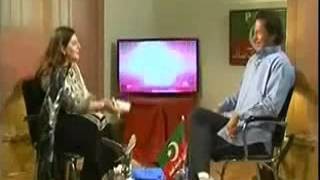 Very Personal Question By a Female Anchor from Imran Khan New Update 2014