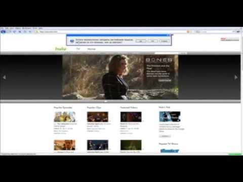 Tutorial on how to install Hotspot Shield on Windows Vista 64 bit and access hulu.com