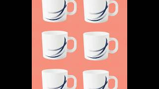 BIG BAZAAR MEMBERS SPECIAL | LARAH BY BOROSIL COFFEE MUG SET AT RS 249