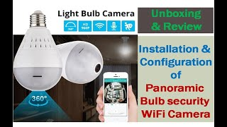How to Setup V380 Panoramic Camera with App - (Easy & Full