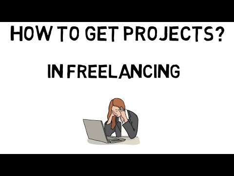 How to get projects for freelancing