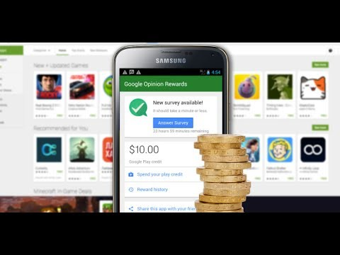 how to Get money on Play Store for free|Earn google play Credits for free | Google Opinion Reward