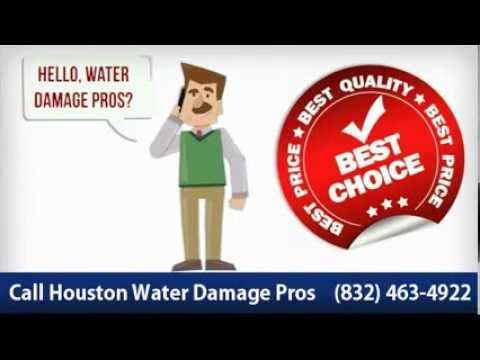 Houston Water Damage - (832) 463-4922 Best Choice!