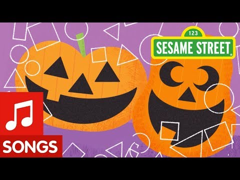 Sesame Street: Making Pumpkin Faces | Halloween Song