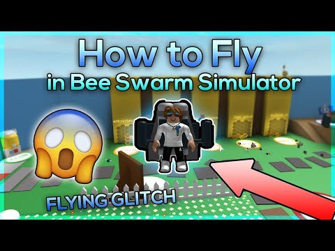 How to Fly in Bee Swarm Simulator (Bee Swarm Simulator Flying Glitch)