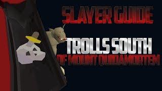 Trolls South Of Mount Quidamortem | Osrs Slayer Guide/location