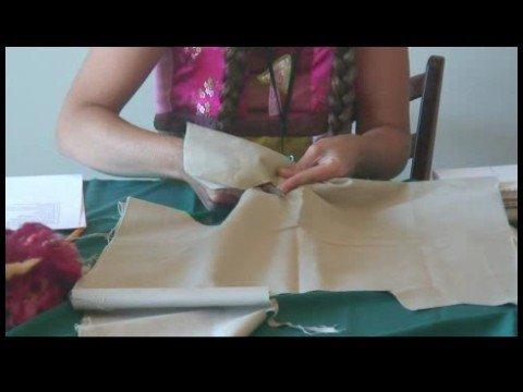 Rag Doll Making : Cutting a Rag Doll Head & Body