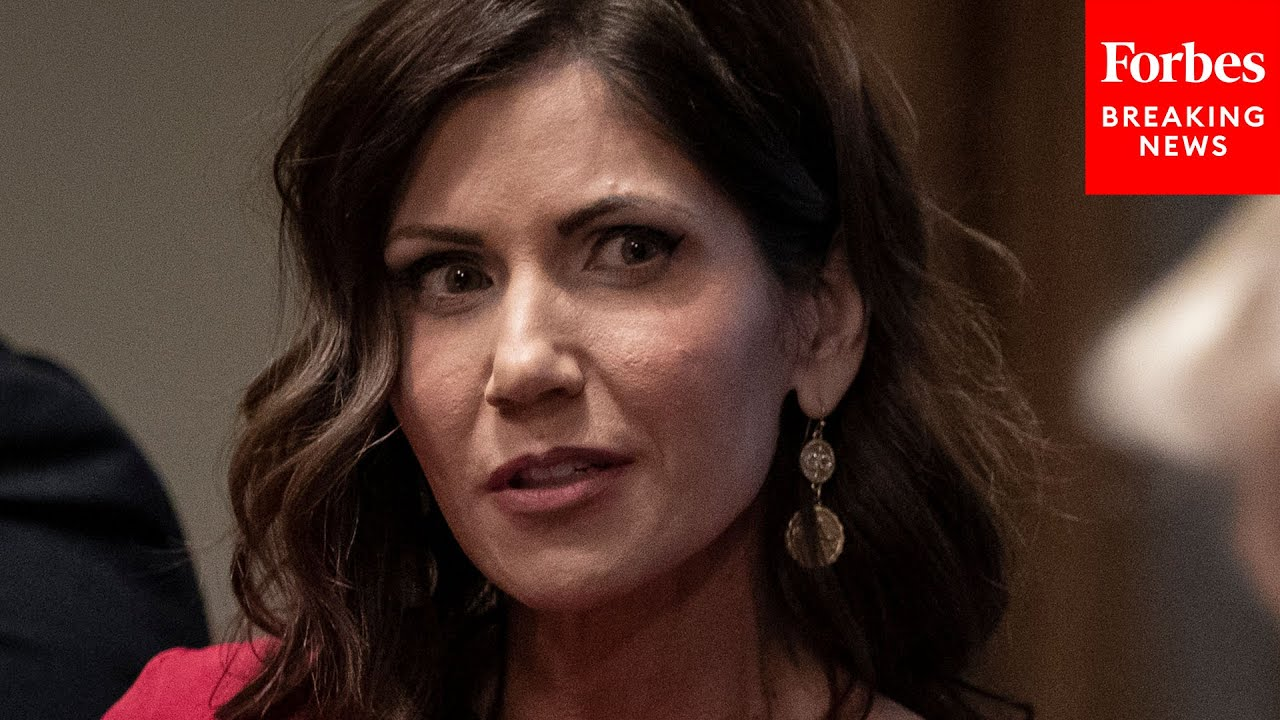 "Kristi Noem fires back at reporter: ""Oh, you think so?"""