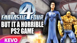 Download Fantastic 4 but it's a horrible ps2 game Video