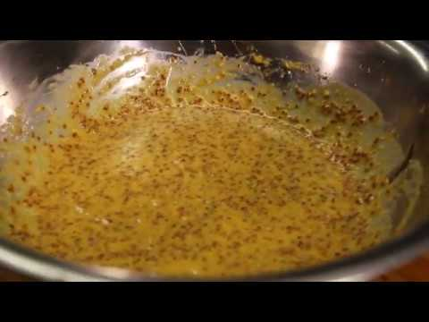 Recipe: Sweet and Spicy Mustard Sauce from Chef Nicolas Bour