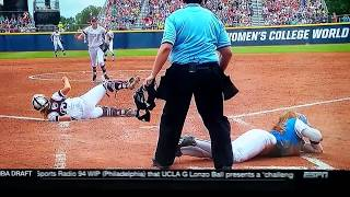 Lisa Fernandez Ejected UCLA Vs Texas A&M