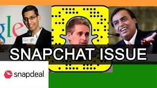 Reply from an Indian to Snapchat CEO | Is India really poor