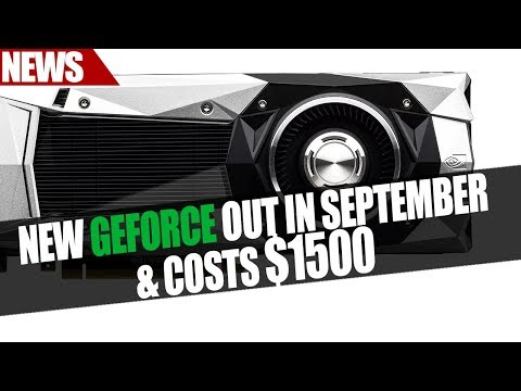 New Geforce Launches In September & Costs $1500 ?? | Nvidia Brief AIB Partners