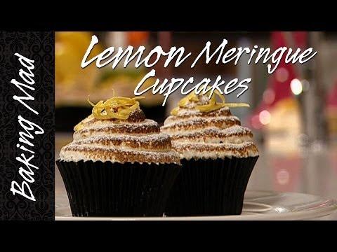 Baking Mad Monday: Lemon Meringue Cupcakes