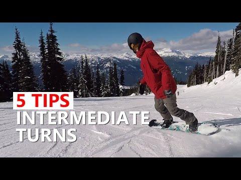 5 Tips for Intermediate Sliding Turns - Snowboard Tutorial