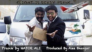   Airport Sending Prank   Flight is Ready By Nadir Ali in P4 Pakao
