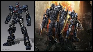 Transformers The Last Knight - Cast Robots (2017 Update) Official