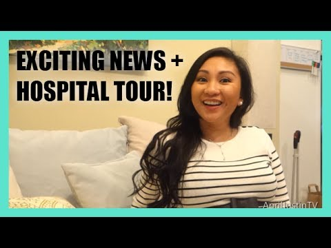 Exciting news + Labor & Delivery Hospital Tour!