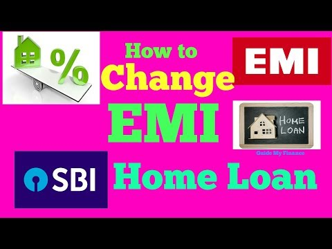 How to Change EMI in SBI Home Loan   Complete Guide on Home Loan EMI Reset