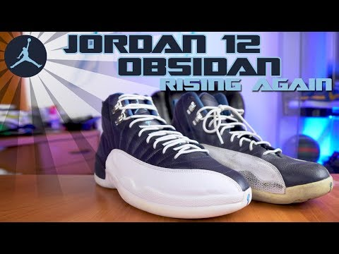 Air Jordan 12 Obsidian Rising Again
