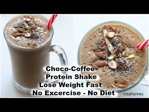 How To Lose Weight Fast - 2 kgs -No Exercise or Diet - Coffee Protein Smoothie/Shake For Weight Loss