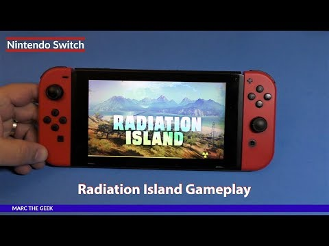 Nintendo Switch: Radiation Island Gameplay