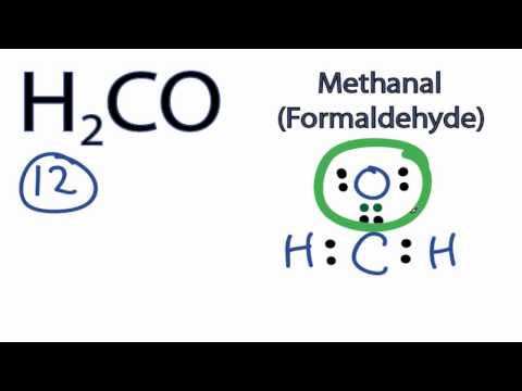 H2CO Lewis Structure: How to Draw the Lewis Structure for H2CO