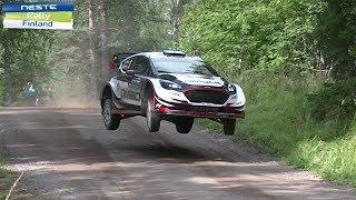 WRC Rally Finland 2017 high speed,jumps,powerdrifts&show