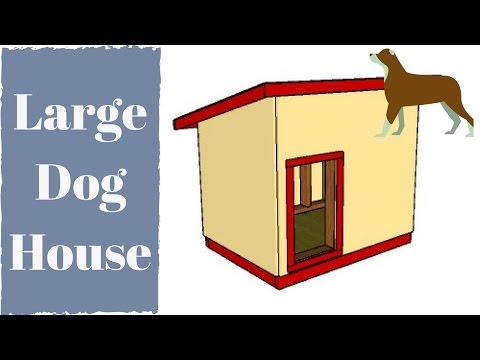 Extra large dog house plans