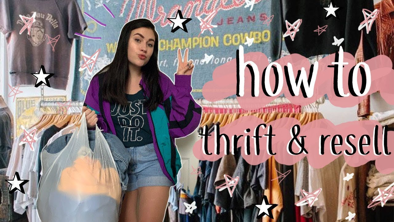 how to start a thrifting/reselling business (and make BANK!!)