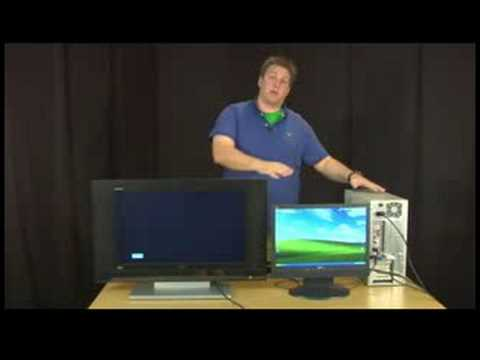 Computer Maintenance Tips : How to Use Your TV as a Second Monitor for Your Computer