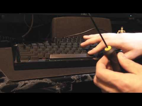 Tutorial: How to remove staiblized keys from a Das Keyboard