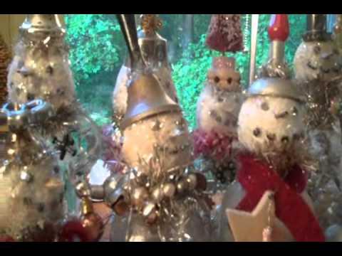Vintage Snowmen Workshop Promo