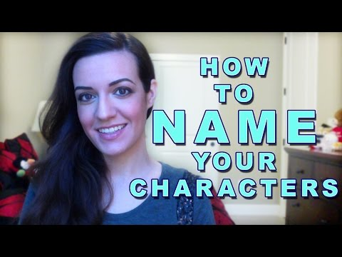 How to Name Your Book Characters