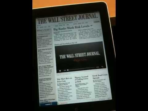 iPadでWSJ