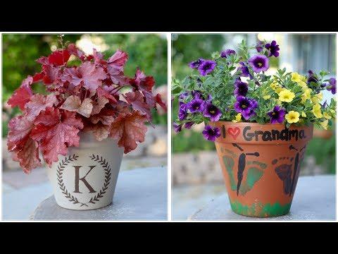 Mother's Day Planter Ideas 💜👣🦋🌸🌿 // Garden Answer