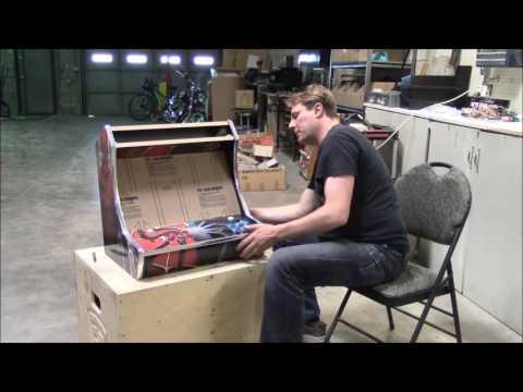 How to install and finish a custom arcade monitor bezel