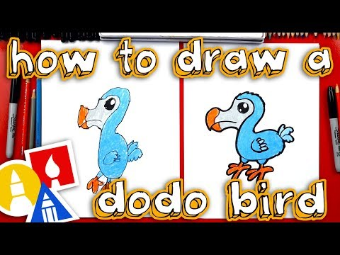 How To Draw A Dodo Bird