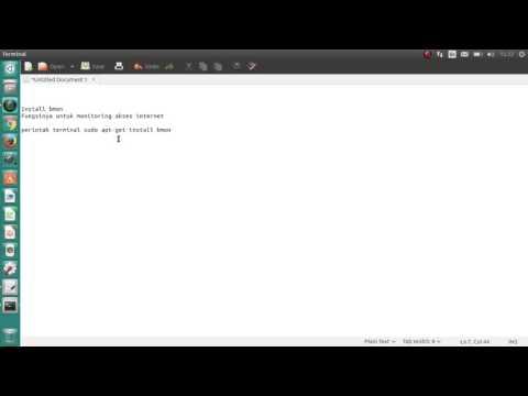 Install Bandwith Monitoring Tool di Ubuntu