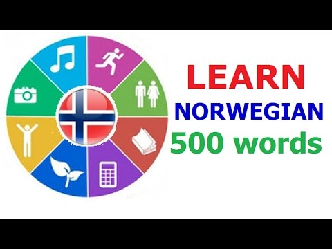 Learn Norwegian (Vocabulary)