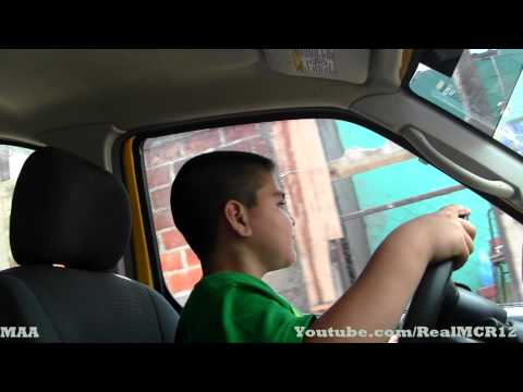 9 Year Old Kid Driving Me - (Automatic Car)